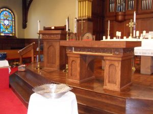 Kawkawlin Church Furniture